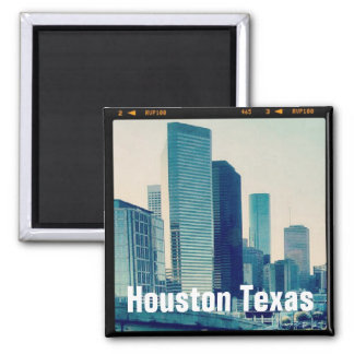 ヒューストンテキサス州建築(磁石) マグネット
