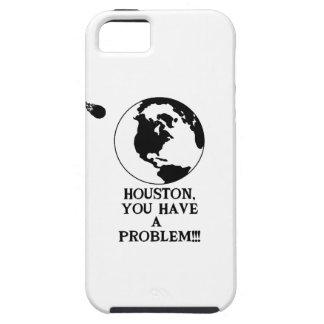 ヒューストン問題-おもしろいなNASAのプリント--を有します iPhone SE/5/5s ケース