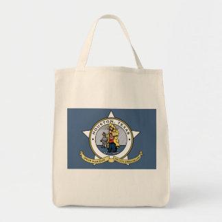 ヒューストン買い物袋のための新しい旗 トートバッグ