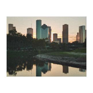 ヒューストン、テキサス州 キャンバスプリント