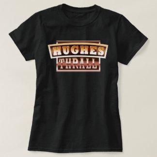 ヒューズか束縛の女性Tシャツ Tシャツ