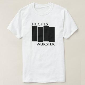 ヒューズのwursterの黒のバー tシャツ