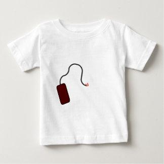 ヒューズをつけて下さい ベビーTシャツ