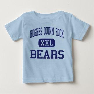 ヒューズクウィンのロックくま-東のセントルイス ベビーTシャツ