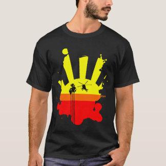 ヒューズ369の日没 Tシャツ