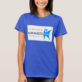 ヒューマニストの社会WAレディースTシャツ Tシャツ