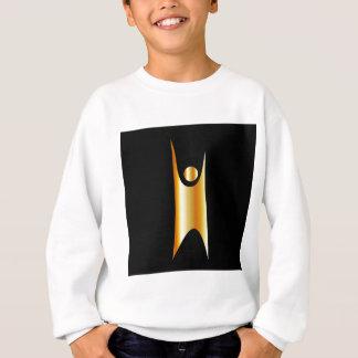 ヒューマニズムの金記号 スウェットシャツ