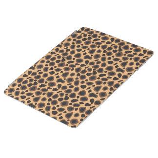 ヒョウのチータのブラウンのアニマルプリントパターン iPadスマートカバー