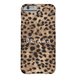 ヒョウのチータのプリントの魅力の電話箱 BARELY THERE iPhone 6 ケース