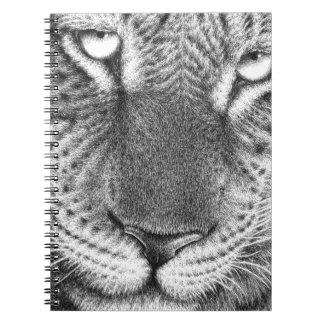 ヒョウのノート ノートブック