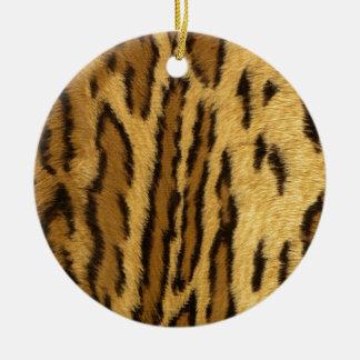 ヒョウのパイントのエキゾチックな動物 セラミックオーナメント
