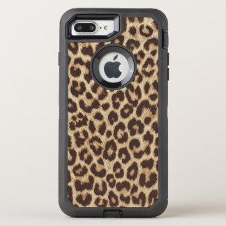 ヒョウのプリントのオッターボックスの擁護者のiPhone 7のプラスの場合 オッターボックスディフェンダーiPhone 8 Plus/7 Plusケース