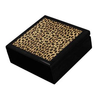 ヒョウのプリントのギフト用の箱 ギフトボックス