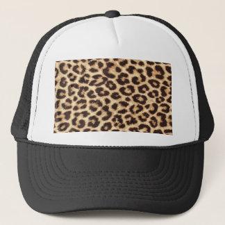 ヒョウのプリントのトラック運転手の帽子か帽子 キャップ