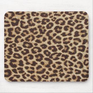 ヒョウのプリントのマウスパッド マウスパッド