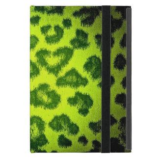 ヒョウのプリントの皮の毛皮5 iPad MINI ケース