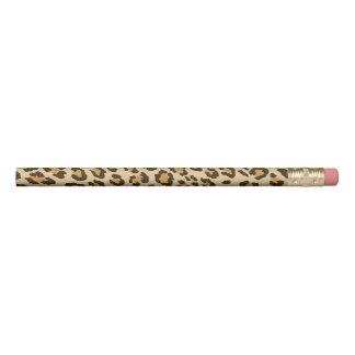 ヒョウのプリントの鉛筆 鉛筆