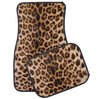 ヒョウのプリントアフリカ猫のプリント カーマット