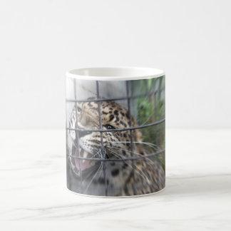 ヒョウのマグ コーヒーマグカップ