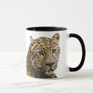 ヒョウのマグ マグカップ