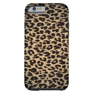 ヒョウのヴィンテージの動物の質 iPhone 6 タフケース