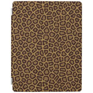 ヒョウの毛皮が付いているタイルの背景 iPadスマートカバー