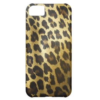 ヒョウの毛皮のアニマルプリント iPhone5Cケース
