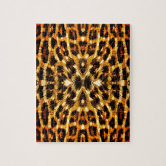 ヒョウの毛皮パターン ジグソーパズル