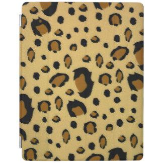 ヒョウの点によってブラシをかけられる毛皮の質の一見 iPadスマートカバー