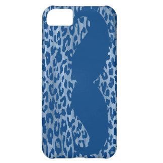 ヒョウの皮のおもしろいで青い髭 iPhone5Cケース