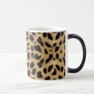 ヒョウの皮のマグ モーフィングマグカップ