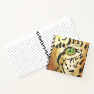 ヒョウの目(キンバリーTurnbullの芸術) ノートブック