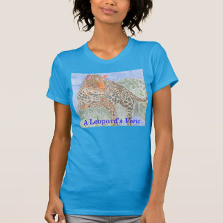 ヒョウの眺め Tシャツ