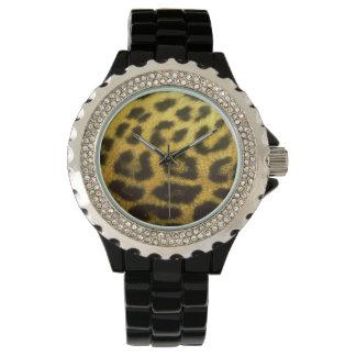 ヒョウの腕時計 腕時計