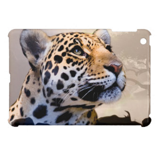 ヒョウの芸術1 iPad MINI カバー