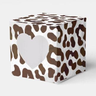 ヒョウチョコレートプリント フェイバーボックス
