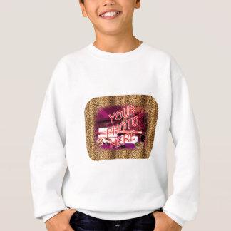 ヒョウフレームのテンプレート スウェットシャツ