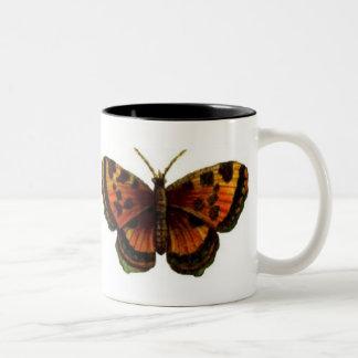 ヒョウ蝶 ツートーンマグカップ