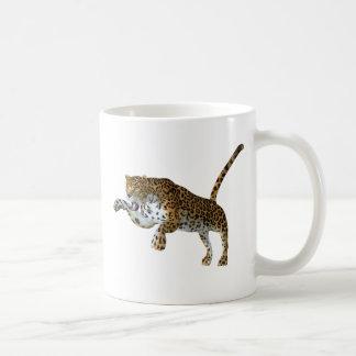 ヒョウ コーヒーマグカップ