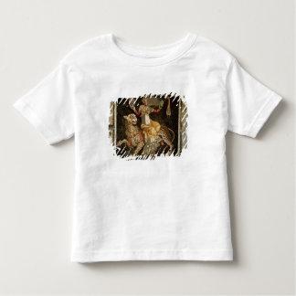 ヒョウc.180の広告に乗るDionysusのモザイク トドラーTシャツ
