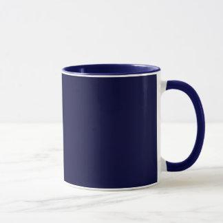 ヒラリーのためのブルーカラーのアメリカ人 マグカップ