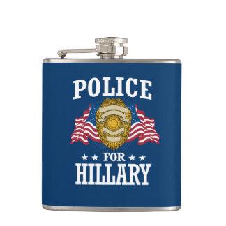 ヒラリーのための警察 フラスク