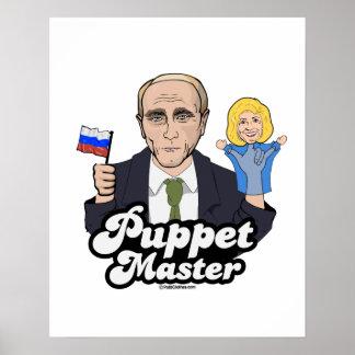 ヒラリーのパペットマスター-ウラジーミル・プーチン- ポスター