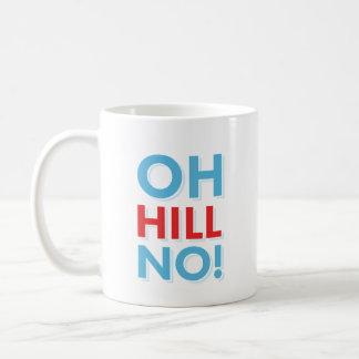 ヒラリーの反Oh丘いいえ! コーヒーマグカップ