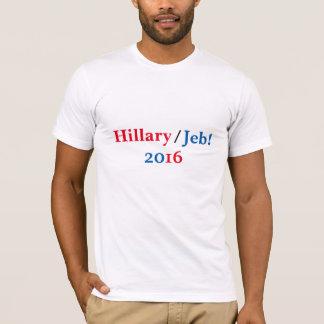 ヒラリーまたはJebの2016年のワイシャツ Tシャツ
