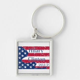ヒラリークリントン2012変えられた米国の旗 キーホルダー