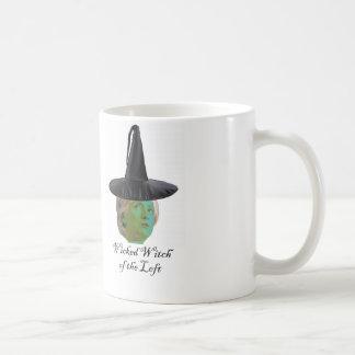 ヒラリークリントン: 左の悪賢い魔法使い コーヒーマグカップ