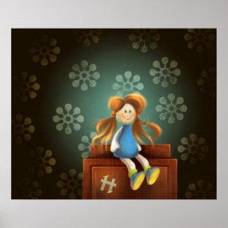 ヒラリー人形ポスター ポスター