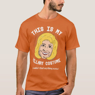 ヒラリー恐いハロウィンの衣裳 Tシャツ