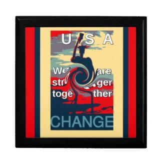 ヒラリー米国私達は一緒により強いです ギフトボックス